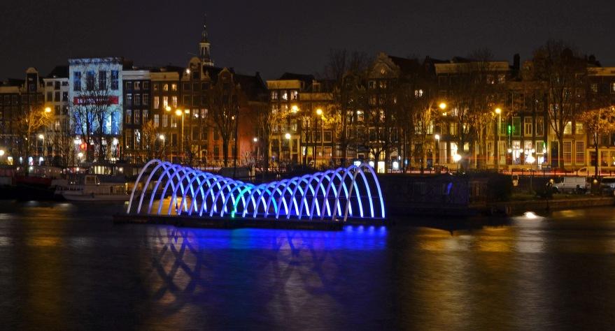 Floating Bridge by Roel Prikken